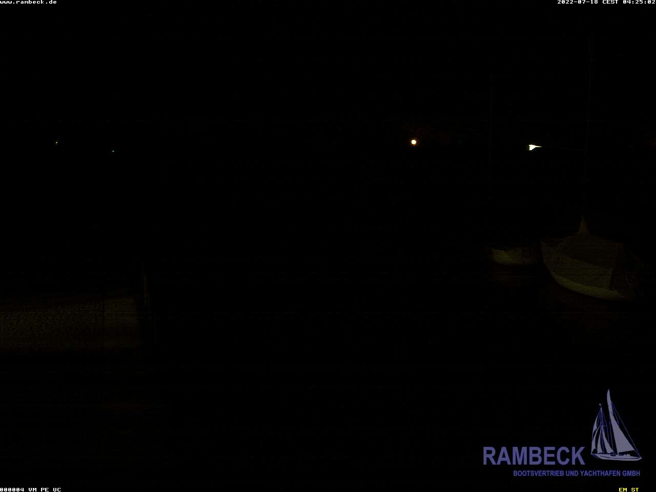 Webcam Bootswerft Rambeck, Starnberg